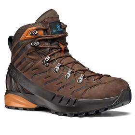 Scarpa Cyclone GTX Shoes brown/rust